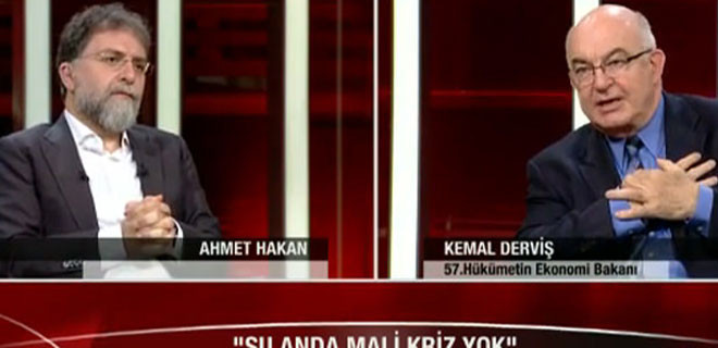 Derviş canlı yayında CHP'lileri şoka soktu