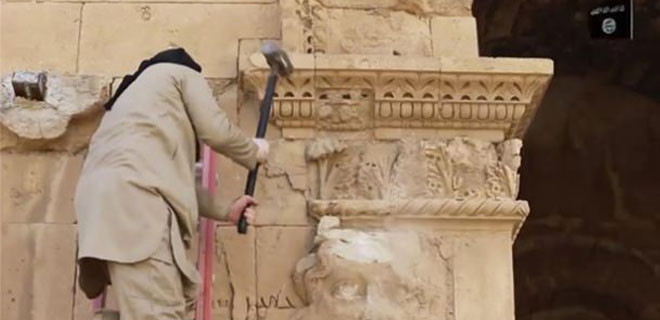 Palmira'ya IŞİD balyozu!