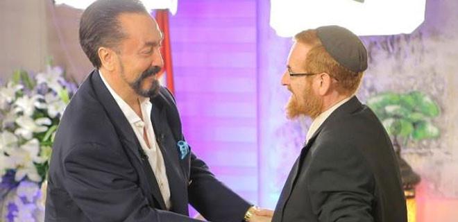 Yehuda Glick, Adnan Oktar'ın iftarında...