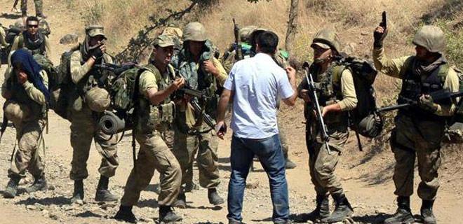 Uludere'de askerlerle HDP'li vekil arasında gerginlik