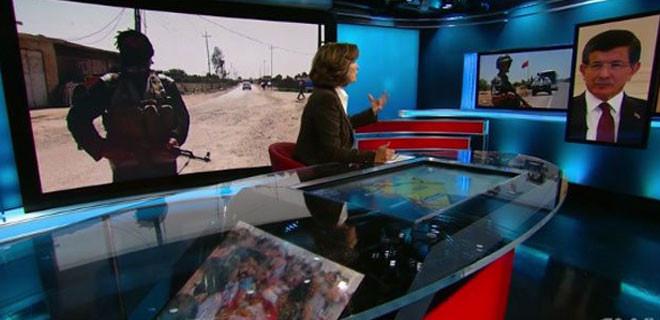 Başbakan Davutoğlu, CNN muhabiri Amanpour'a konuştu