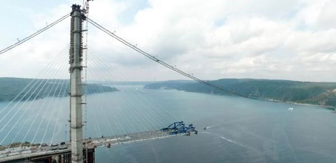 3. Köprü'deyeni bir eşik daha geçildi