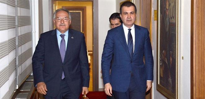 CHP ve AKP arasındaki 2. görüşme sona erdi