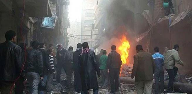 Eş zamanlı 3 bombalı intihar saldırısı: Çok sayıda ölü ve yaralı var