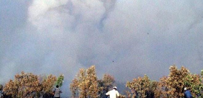 Güneydoğu'da büyük yangın: 1 şehit