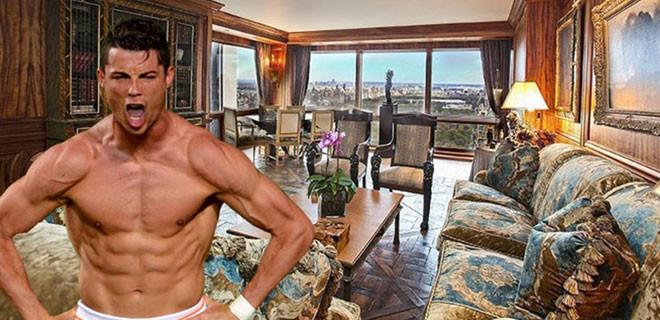 İşte Ronaldo'nun 18.5 milyon dolarlık evi