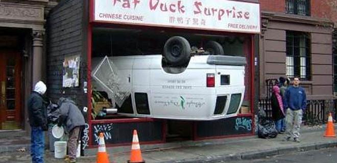 Dünyanın en acaip kazaları