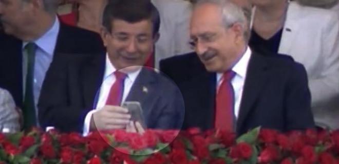 Davutoğlu ve Kılıçdaroğlu'nun 30 Ağustos sohbeti