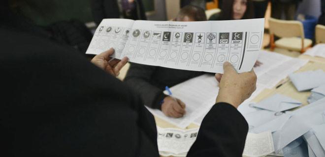 Son seçim anketinde 2 partiye büyük şok!