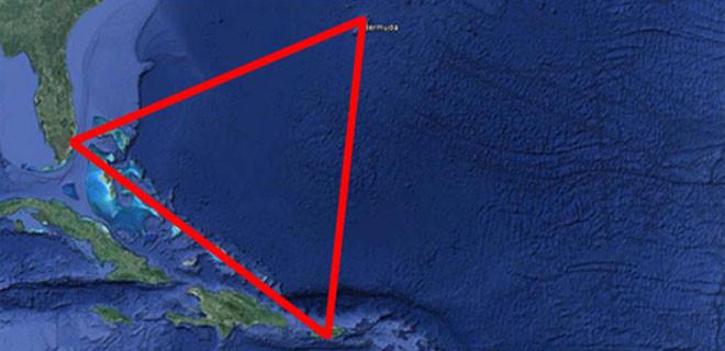 Dev gemi, Bermuda Şeytan Üçgeni'nde kayboldu