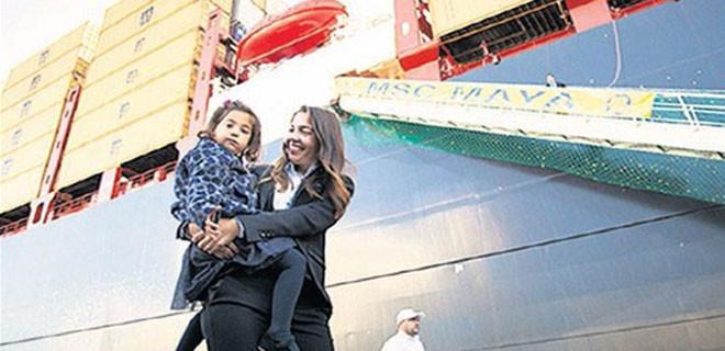Dev gemiye Türk torunun ismini verdi