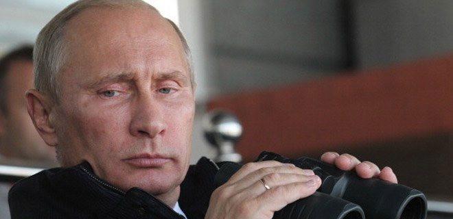 Putin gelsin bizi de vursun