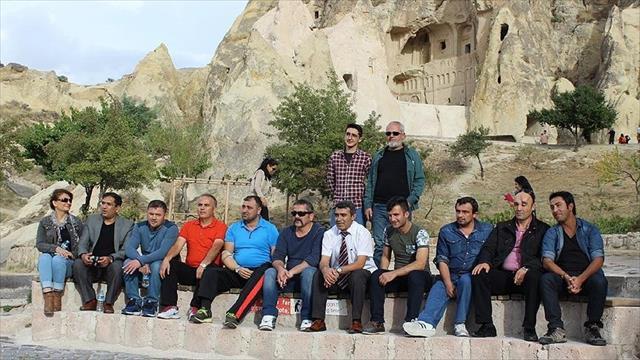 Terör gazilerine Kapadokya morali