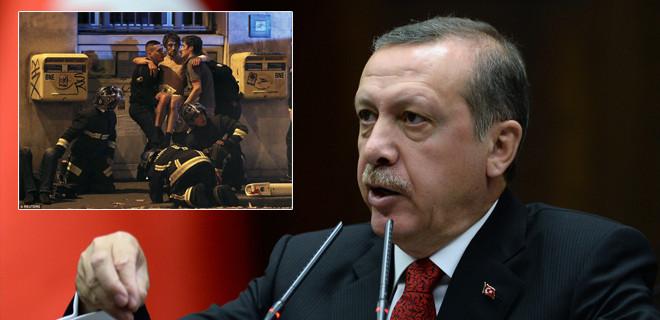 Cumhurbaşkanı Erdoğan'dan Fransa açıklaması