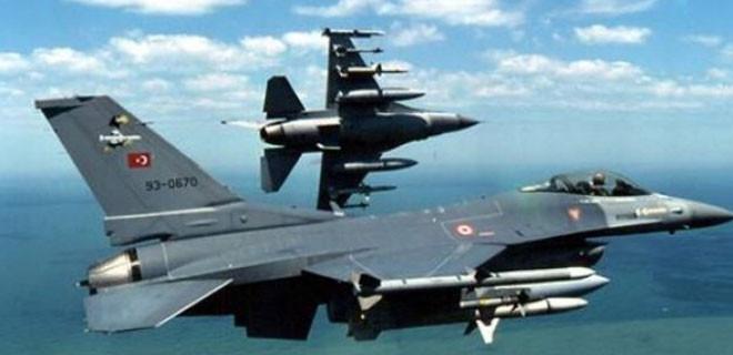 TSK sınıra rekor sayıda F-16 gönderdi