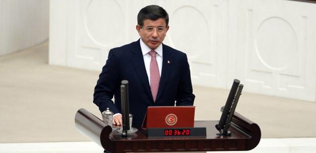 Davutoğlu hükümet programını açıklıyor