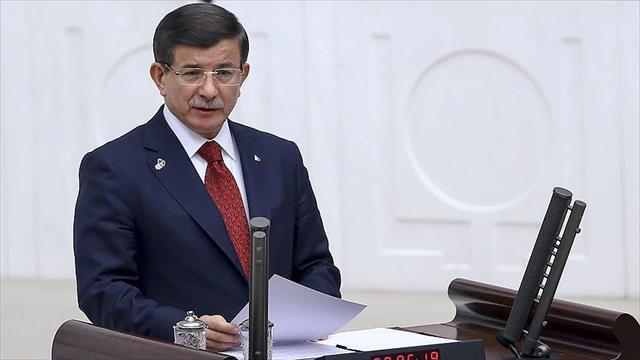 Başbakan Davutoğlu TBMM'de hükümet programını açıkladı