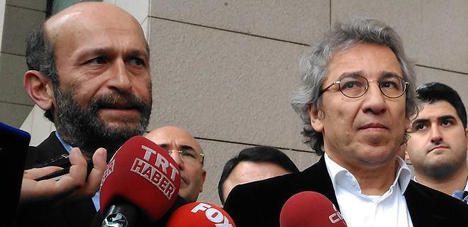 Can Dündar ve Erdem Gül'ün tutuklanmasına hükümetten ilk yorum