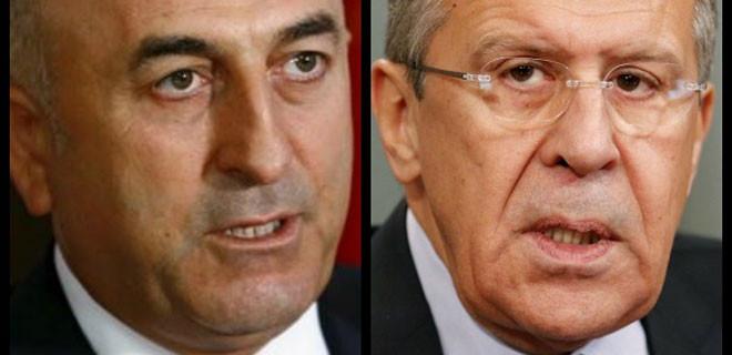 Çavuşoğlu ve Lavrov'dan 'it dalaşı' restleşmesi