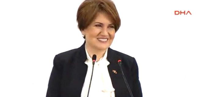 MHP'de Akşener'den iddialı çıkış