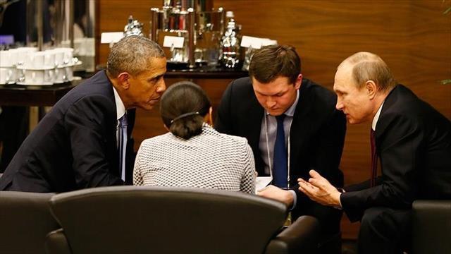 Obama ile Putin 'uçak gerilimini' görüştü