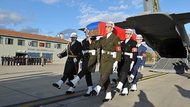 Rus pilotun cenazesi Moskova'ya getirildi