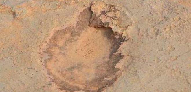 Bu ayak izleri 150 milyon yıl öncesinden...