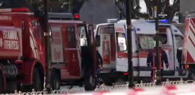 Sultanahmet'te patlama: En az 10 ölü