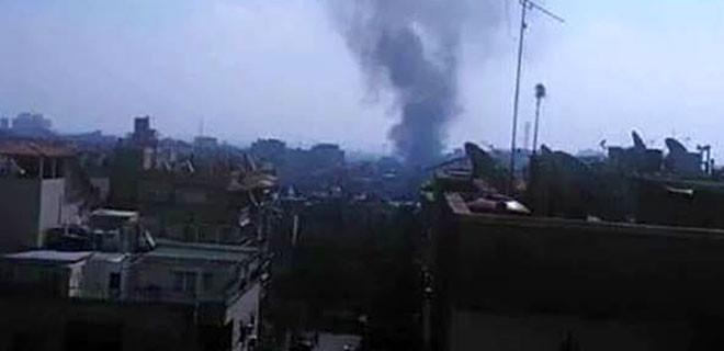 Suriye'nin başkenti Şam'da bombalı saldırı