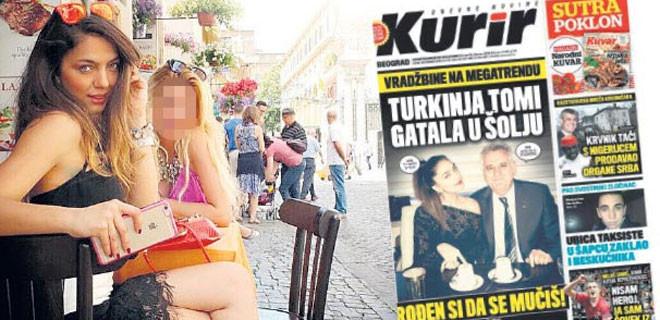 Türk kızı fal baktı, Sırbistan karıştı