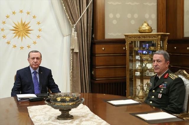 Davutoğlu, Cumhurbaşkanlığı Külliyesi'nde