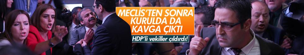 AK Parti'li ve HDP'li vekiller yine kavga etti