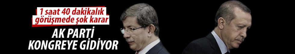 Erdoğan-Davutoğlu görüşmesiyle ilgili sıcak gelişme