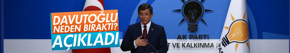 Davutoğlu Emanetçi Başbakan olmadım