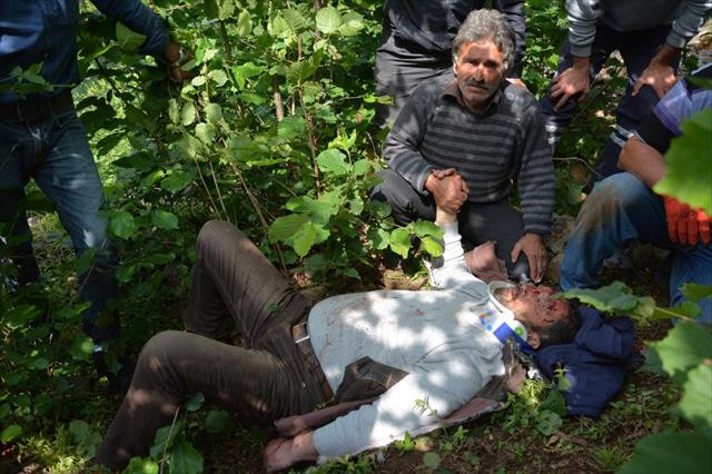 Minibüs uçuruma yuvarlandı: 1 ölü, 5 yaralı
