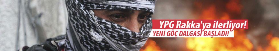 YPG Rakka'ya ilerliyor!