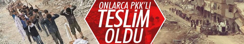 Nusaybin'de 42 PKK'lı terörist teslim oldu
