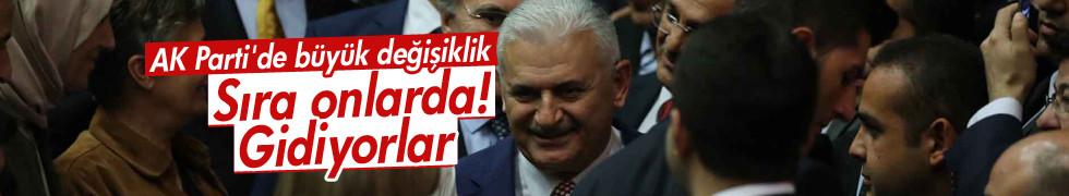AK Parti'de onlar da değişiyor