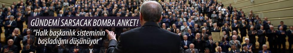 Halk başkanlık sisteminin başladığını düşünüyor