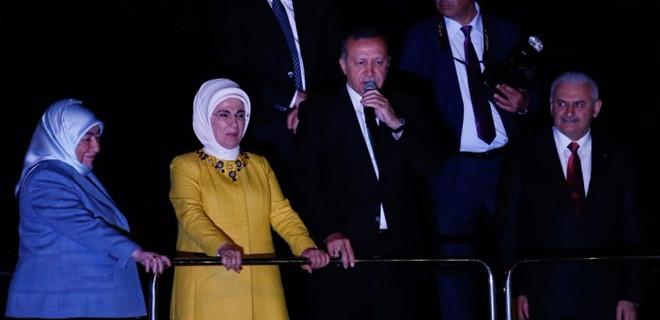 Erdoğan'dan Yıldırım esprisi: Fazla gaz vermeyin