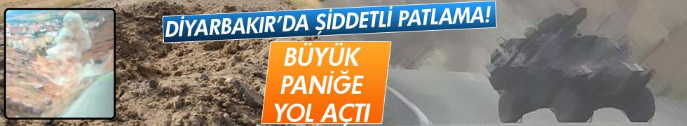 Diyarbakır'da şiddetli patlama!