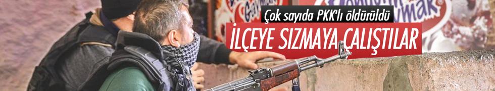 İdil'de çatışma! Çok sayıda PKK'lı öldürüldü