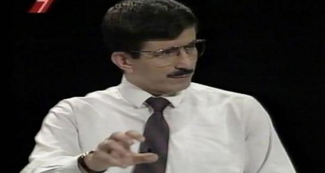 İşte Ahmet Davutoğlu'nun 20 yıl önceki görüntüsü!