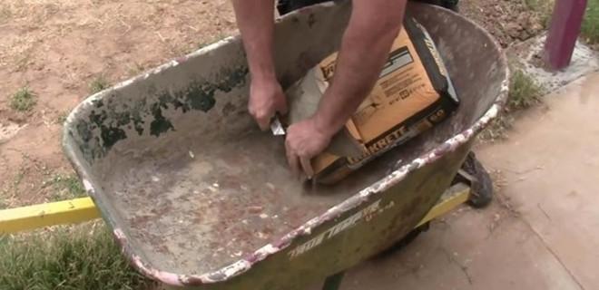 Çimentoyla bakın ne yaptı!