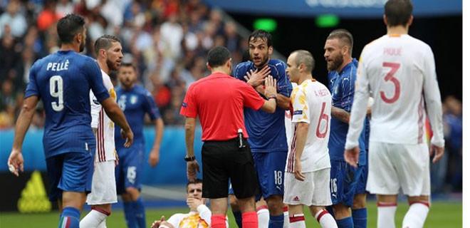 İtalya-İspanya maçında olay yorumlar