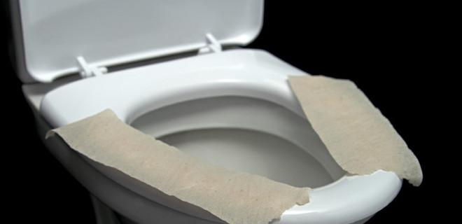 Klozete tuvalet kağıdı seriyorsanız...
