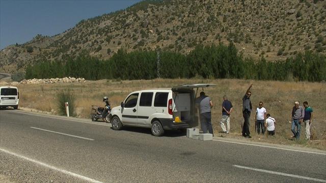 Yol kenarında suikast silahı bulundu