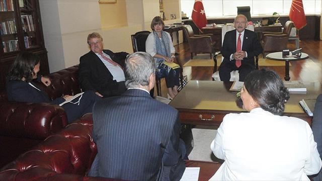 Kılıçdaroğlu Brok ve Piri ile görüştü