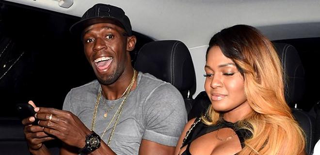Usain Bolt böyle görüntülendi!