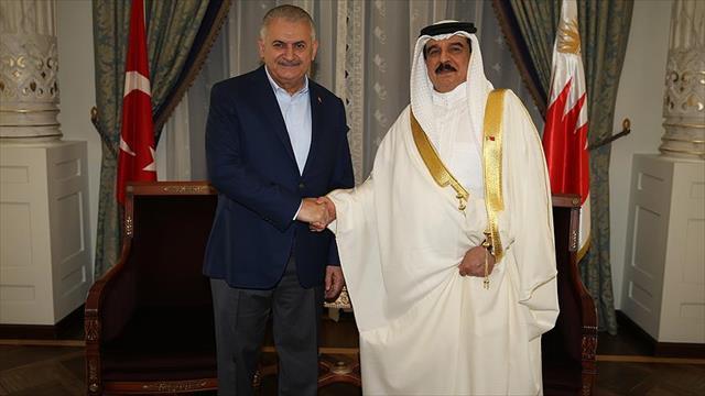 Başbakan Yıldırım, Bahreyn Kralı El Halife ile görüştü